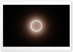 Annular Solar Eclipse HD Wide Wallpaper for Widescreen