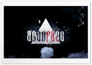 AnonFace HD Wide Wallpaper for Widescreen