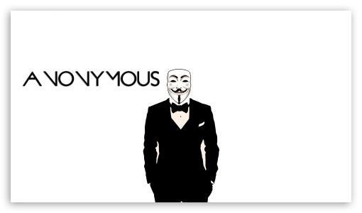 Anonymous ❤ 4K UHD Wallpaper for 4K UHD 16:9 Ultra High Definition 2160p 1440p 1080p 900p 720p ; Mobile 16:9 - 2160p 1440p 1080p 900p 720p ;