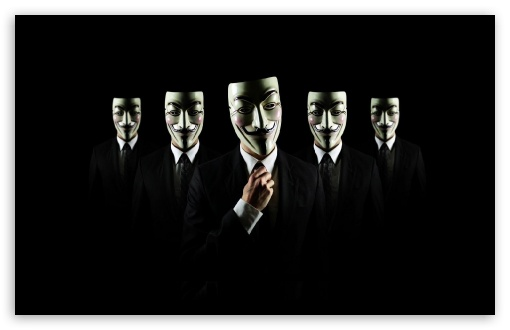 Anonymous 4k Hd Desktop Wallpaper For 4k Ultra Hd Tv Tablet