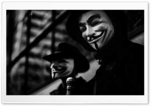 Anonymous HD Wide Wallpaper for 4K UHD Widescreen desktop & smartphone