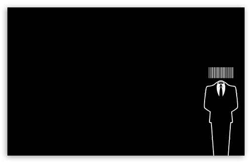 Anonymous Barcode HD wallpaper for Wide 16:10 5:3 Widescreen WHXGA WQXGA WUXGA WXGA WGA ; HD 16:9 High Definition WQHD QWXGA 1080p 900p 720p QHD nHD ; Standard 4:3 5:4 3:2 Fullscreen UXGA XGA SVGA QSXGA SXGA DVGA HVGA HQVGA devices ( Apple PowerBook G4 iPhone 4 3G 3GS iPod Touch ) ; Tablet 1:1 ; iPad 1/2/Mini ; Mobile 4:3 5:3 3:2 16:9 5:4 - UXGA XGA SVGA WGA DVGA HVGA HQVGA devices ( Apple PowerBook G4 iPhone 4 3G 3GS iPod Touch ) WQHD QWXGA 1080p 900p 720p QHD nHD QSXGA SXGA ;
