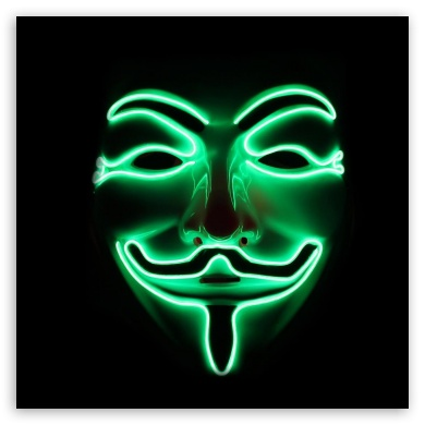Anonymous Mask 4k Hd Desktop Wallpaper For