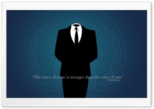 Anonymous Quotes HD Wide Wallpaper for Widescreen