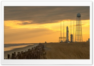 Antares Rocket HD Wide Wallpaper for Widescreen