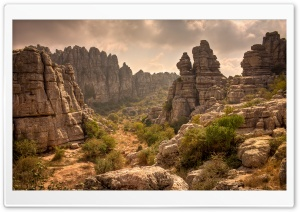 Antequera Mountains HD Wide Wallpaper for Widescreen