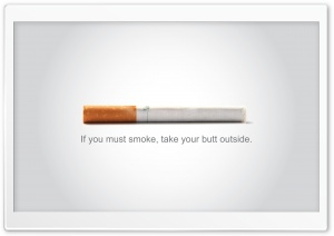 Anti Tobacco HD Wide Wallpaper for Widescreen