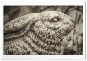 Antique Rabbit HD Wide Wallpaper for Widescreen