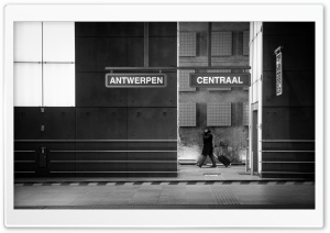 Antwerpen Centraal HD Wide Wallpaper for Widescreen