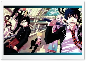 Ao No Exorcist HD Wide Wallpaper for 4K UHD Widescreen desktop & smartphone