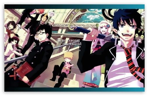 Download Ao No Exorcist UltraHD Wallpaper