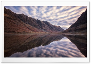 Aonach Eagach and Loch Achtriochtan HD Wide Wallpaper for Widescreen