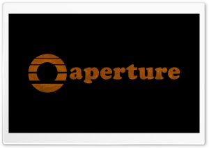 Aperture Laboratories HD Wide Wallpaper for Widescreen
