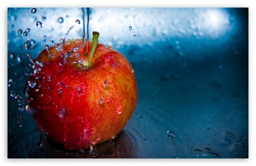 Apple And Water HD wallpaper for Standard 4:3 5:4 Fullscreen UXGA XGA SVGA QSXGA SXGA ; Wide 16:10 5:3 Widescreen WHXGA WQXGA WUXGA WXGA WGA ; HD 16:9 High Definition WQHD QWXGA 1080p 900p 720p QHD nHD ; Other 3:2 DVGA HVGA HQVGA devices ( Apple PowerBook G4 iPhone 4 3G 3GS iPod Touch ) ; Mobile VGA WVGA iPhone iPad PSP Phone - VGA QVGA Smartphone ( PocketPC GPS iPod Zune BlackBerry HTC Samsung LG Nokia Eten Asus ) WVGA WQVGA Smartphone ( HTC Samsung Sony Ericsson LG Vertu MIO ) HVGA Smartphone ( Apple iPhone iPod BlackBerry HTC Samsung Nokia ) Sony PSP Zune HD Zen ; Tablet 2 ;