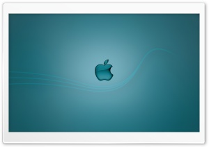 Apple-Blue HD Wide Wallpaper for Widescreen