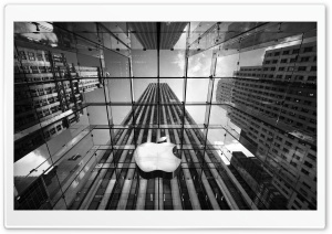 Apple Building HD Wide Wallpaper for Widescreen