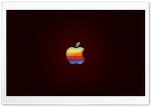 Apple Colorful Logo HD Wide Wallpaper for Widescreen