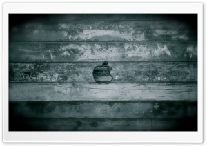 Apple Grunge Wood HD Wide Wallpaper for Widescreen