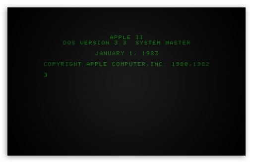 Apple II Boot Screen ❤ 4K UHD Wallpaper for Wide 16:10 5:3 Widescreen WHXGA WQXGA WUXGA WXGA WGA ; 4K UHD 16:9 Ultra High Definition 2160p 1440p 1080p 900p 720p ; Standard 4:3 5:4 3:2 Fullscreen UXGA XGA SVGA QSXGA SXGA DVGA HVGA HQVGA ( Apple PowerBook G4 iPhone 4 3G 3GS iPod Touch ) ; iPad 1/2/Mini ; Mobile 4:3 5:3 3:2 16:9 5:4 - UXGA XGA SVGA WGA DVGA HVGA HQVGA ( Apple PowerBook G4 iPhone 4 3G 3GS iPod Touch ) 2160p 1440p 1080p 900p 720p QSXGA SXGA ;