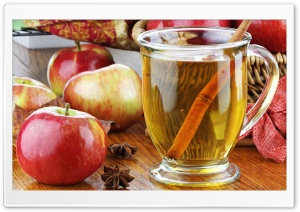 Apple Juice HD Wide Wallpaper for Widescreen