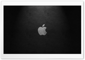 Apple Leather HD Wide Wallpaper for Widescreen