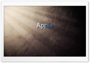 Apple Logo Art HD Wide Wallpaper for Widescreen