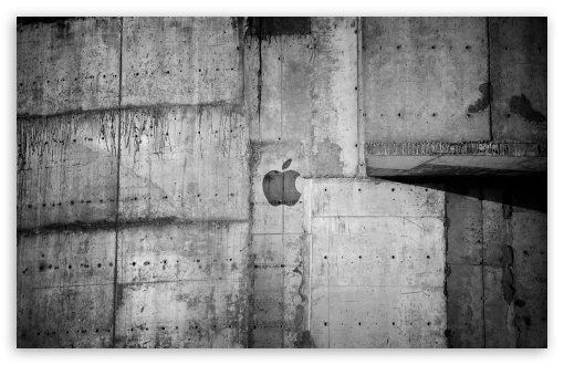 Apple Logo Concrete Wall HD wallpaper for Wide 16:10 5:3 Widescreen WHXGA WQXGA WUXGA WXGA WGA ; HD 16:9 High Definition WQHD QWXGA 1080p 900p 720p QHD nHD ; Standard 4:3 5:4 3:2 Fullscreen UXGA XGA SVGA QSXGA SXGA DVGA HVGA HQVGA devices ( Apple PowerBook G4 iPhone 4 3G 3GS iPod Touch ) ; Tablet 1:1 ; iPad 1/2/Mini ; Mobile 4:3 5:3 3:2 16:9 5:4 - UXGA XGA SVGA WGA DVGA HVGA HQVGA devices ( Apple PowerBook G4 iPhone 4 3G 3GS iPod Touch ) WQHD QWXGA 1080p 900p 720p QHD nHD QSXGA SXGA ; Dual 16:10 5:3 16:9 4:3 5:4 WHXGA WQXGA WUXGA WXGA WGA WQHD QWXGA 1080p 900p 720p QHD nHD UXGA XGA SVGA QSXGA SXGA ;