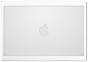 Apple Logo White HD Wide Wallpaper for Widescreen