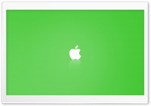 Apple MAC OS X Green HD Wide Wallpaper for Widescreen