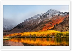 Apple Mac OS X High Sierra HD Wide Wallpaper for Widescreen