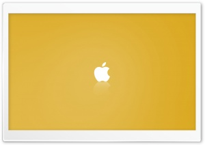 Apple MAC OS X Yellow HD Wide Wallpaper for Widescreen