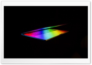Apple MacBook Pro Laptop Colorful Background HD Wide Wallpaper for 4K UHD Widescreen desktop & smartphone