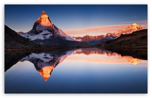 Apple Mountain Ultra Hd Desktop Background Wallpaper For