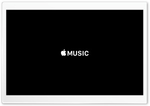 Apple Music HD Wide Wallpaper for Widescreen
