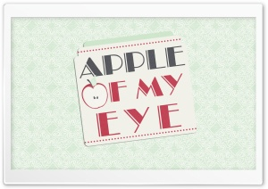 Apple Of My Eye HD Wide Wallpaper for Widescreen