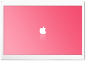 Apple Simple Pink HD Wide Wallpaper for Widescreen