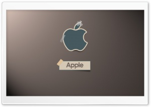 Apple Sticky Note HD Wide Wallpaper for Widescreen