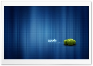 Apple Think Totally Different HD Wide Wallpaper for Widescreen