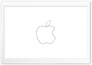 Apple Typography HD Wide Wallpaper for Widescreen