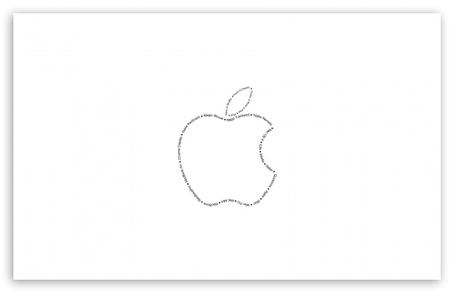 Apple Typography HD wallpaper for Wide 16:10 5:3 Widescreen WHXGA WQXGA WUXGA WXGA WGA ; HD 16:9 High Definition WQHD QWXGA 1080p 900p 720p QHD nHD ; Standard 4:3 5:4 3:2 Fullscreen UXGA XGA SVGA QSXGA SXGA DVGA HVGA HQVGA devices ( Apple PowerBook G4 iPhone 4 3G 3GS iPod Touch ) ; Tablet 1:1 ; iPad 1/2/Mini ; Mobile 4:3 5:3 3:2 16:9 5:4 - UXGA XGA SVGA WGA DVGA HVGA HQVGA devices ( Apple PowerBook G4 iPhone 4 3G 3GS iPod Touch ) WQHD QWXGA 1080p 900p 720p QHD nHD QSXGA SXGA ;