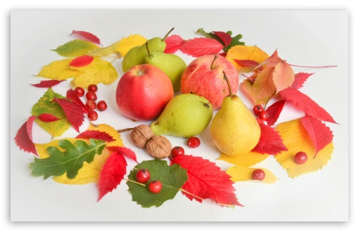 Apples, Pears, Fruits, Autumn Leaves UltraHD Wallpaper for Wide 16:10 5:3 Widescreen WHXGA WQXGA WUXGA WXGA WGA ; UltraWide 21:9 24:10 ; 8K UHD TV 16:9 Ultra High Definition 2160p 1440p 1080p 900p 720p ; UHD 16:9 2160p 1440p 1080p 900p 720p ; Standard 4:3 5:4 3:2 Fullscreen UXGA XGA SVGA QSXGA SXGA DVGA HVGA HQVGA ( Apple PowerBook G4 iPhone 4 3G 3GS iPod Touch ) ; Smartphone 3:2 DVGA HVGA HQVGA ( Apple PowerBook G4 iPhone 4 3G 3GS iPod Touch ) ; Tablet 1:1 ; iPad 1/2/Mini ; Mobile 4:3 5:3 3:2 16:9 5:4 - UXGA XGA SVGA WGA DVGA HVGA HQVGA ( Apple PowerBook G4 iPhone 4 3G 3GS iPod Touch ) 2160p 1440p 1080p 900p 720p QSXGA SXGA ; Dual 16:10 5:3 WHXGA WQXGA WUXGA WXGA WGA ;
