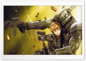 Appleseed Ex Machina HD Wide Wallpaper for Widescreen