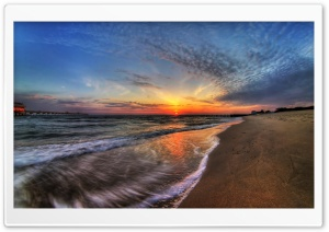 April Sunrise HD Wide Wallpaper for Widescreen