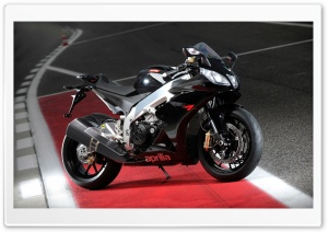 Aprilia RSV Four HD Wide Wallpaper for Widescreen