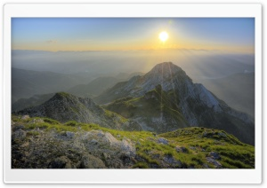 Apuan Alps HD Wide Wallpaper for Widescreen