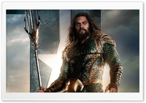 Aquaman in Justice League HD Wide Wallpaper for 4K UHD Widescreen desktop & smartphone