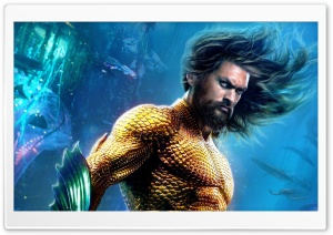 Aquaman Movie HD Wide Wallpaper for 4K UHD Widescreen desktop & smartphone