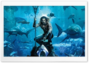 Aquaman Movie Jason Momoa Ultra HD Wallpaper for 4K UHD Widescreen desktop, tablet & smartphone