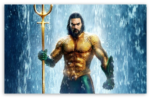 Download Aquaman Movie Jason Momoa Actor HD Wallpaper