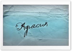 Aqueous HD Wide Wallpaper for Widescreen